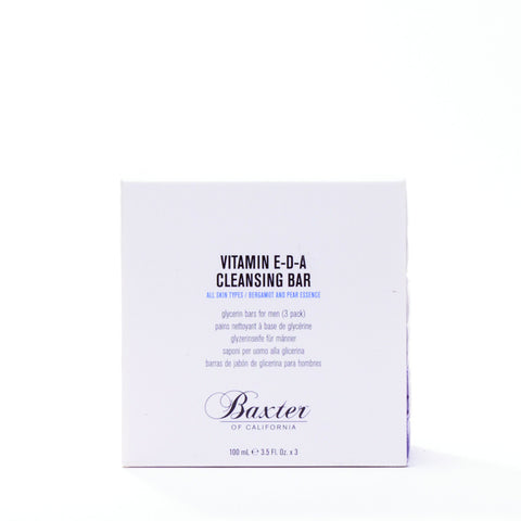 Baxter of California Vitamin E-D-A Cleansing Bar