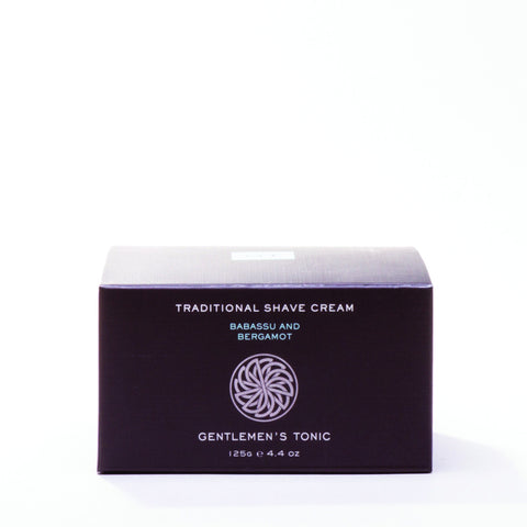 Gentleman's Tonic Traditional Shave Cream