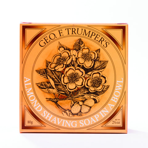 Geo. F. Trumper's Almond Shaving Soap in a Bowl