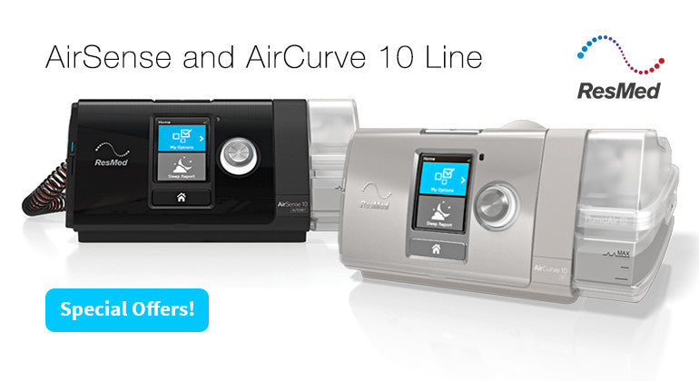 AirSense and AirCurve 10 Line