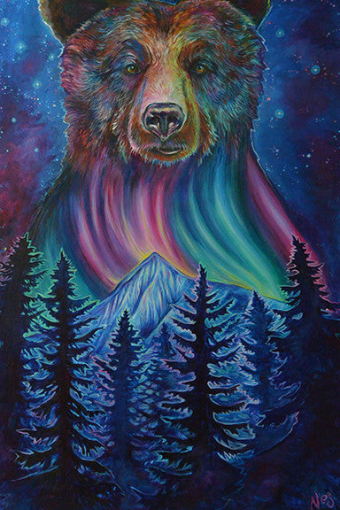 Big Bear on Canvas