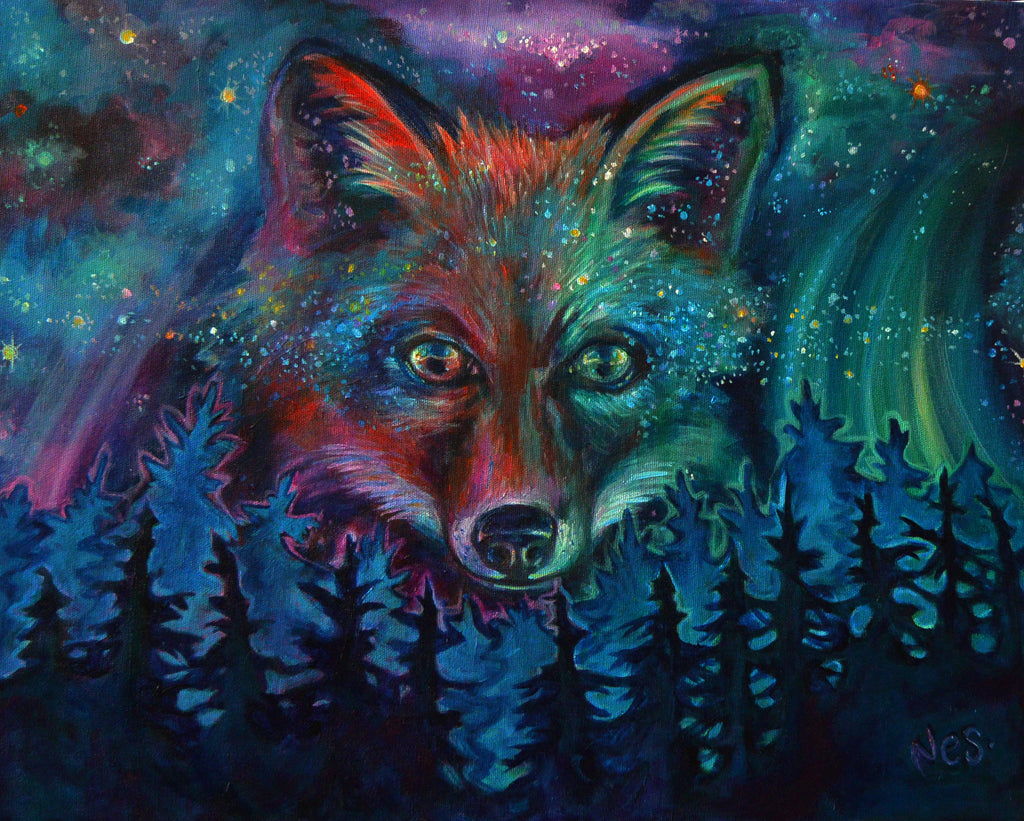 Cosmic Fire Fox