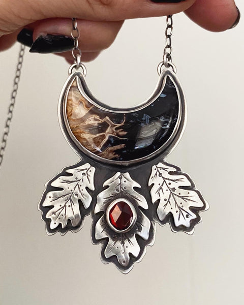 Blessings from the Underworld Pendant ✦ 20 Inches ✦ Descent of Persephone Collection, Vol. VI