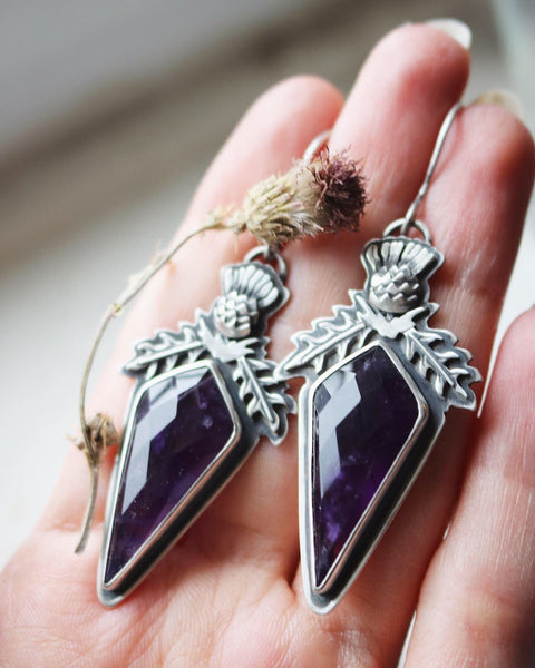 Thistle Dagger Earrings ✦ Pair No. 2 ✦ The Thistle Armory Collection
