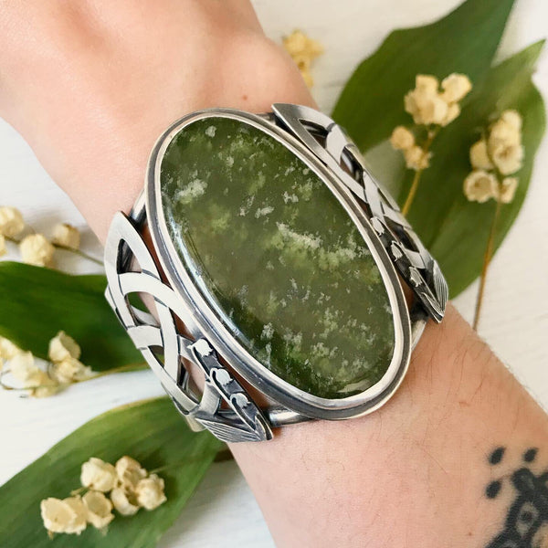 Lily of the Valley Armor Cuff - 5 3/8 Inches - Size S - Lily of the Valley Collection