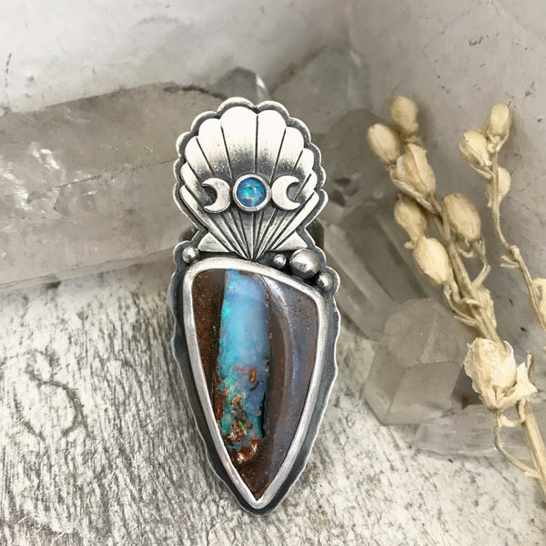 Sea Witch Ring - Size 8 1/2