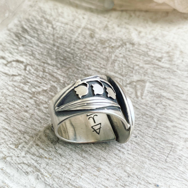 Lily of the Valley Boundary Ring ✦ Size just over 10 ✦ Lily of the Valley Collection