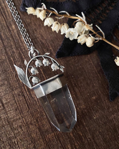 Lily of the Valley Talisman ✦ 16 Inch Chain ✦ Olde Ways of Winter Collection