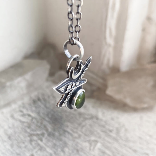MADE TO ORDER ✦ Order of the Lily of the Valley Sigil Pendant ✦ Choose Your Chain Length ✦ Lily of the Valley Collection