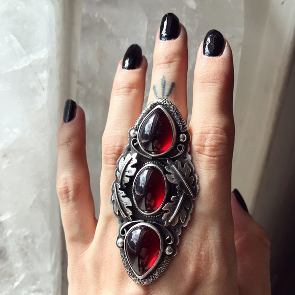 Persephone's Diadem Ring - Size 7 1/2 - Descent of Persephone Collection, Vol. V