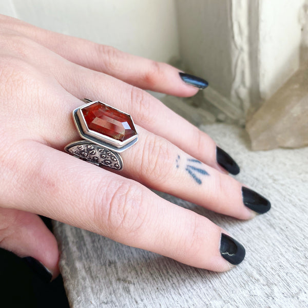 Amanita Muscaria Ring ✦ Size 6 ✦ Olde Ways of Winter Collection