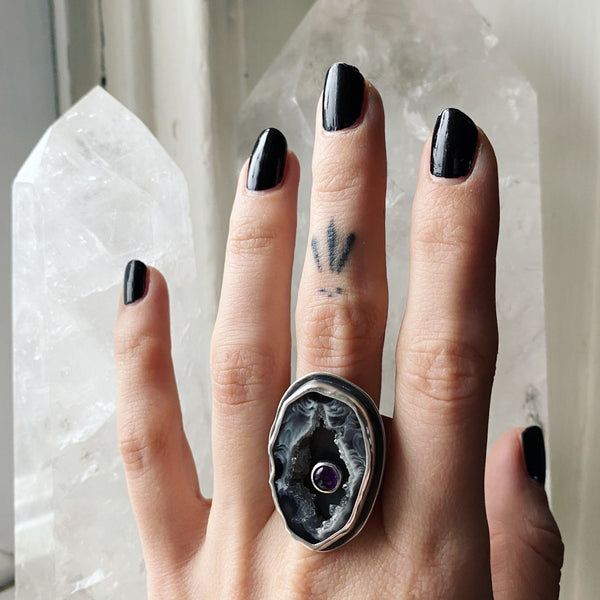 Crystal Cavern Ring ✦ Size 9 ✦ Retrospective Collection