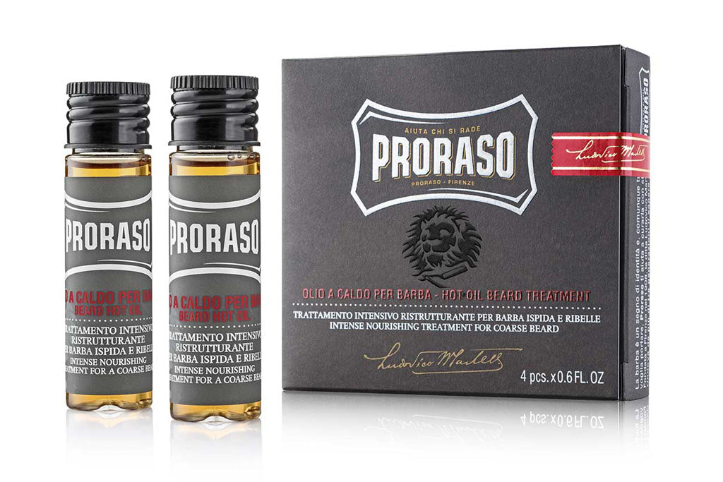 proraso hot berad oil