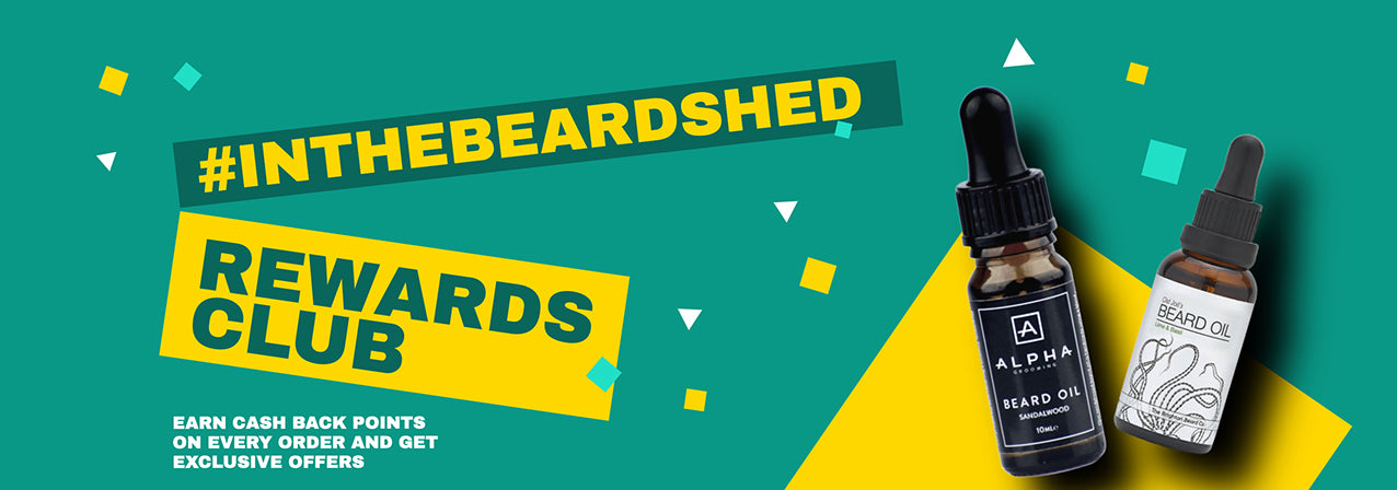 The Beard Shed rewards