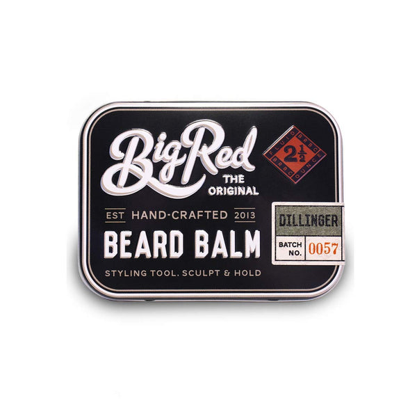 Big red Dillinger Beard Balm