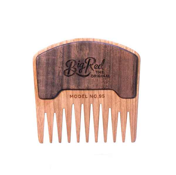 Big Red No. 95 Beard Comb