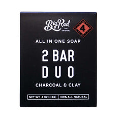 Big Red All in One Soap 2 Bar Duo