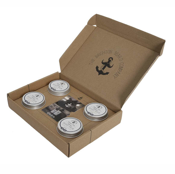 The Brighton Beard Company Creampot Tom's The Collection Gift Set