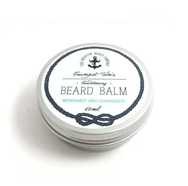 The Brighton Beard Company - Creampot Tom's Beard Balm - Bergamot and Coriander