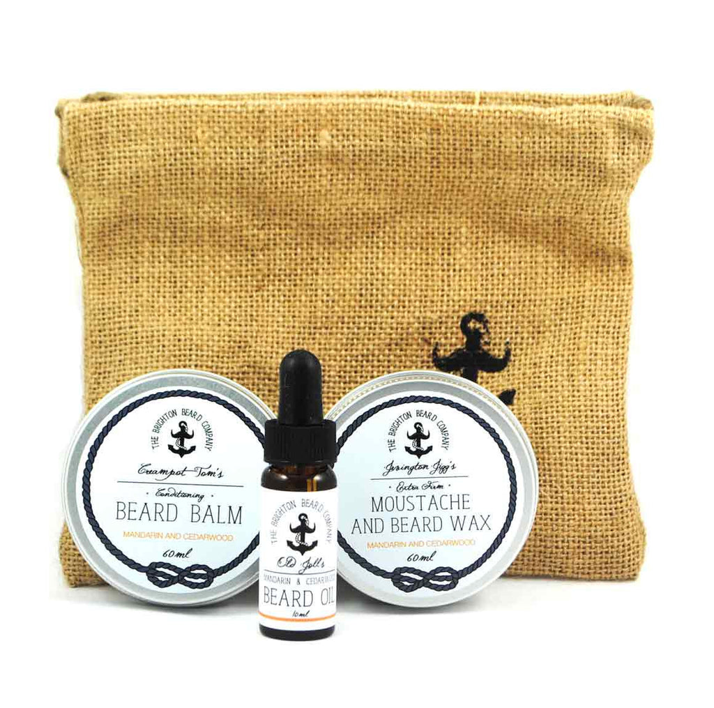 The Brighton Beard Company - Crowlink Loot Gift Set