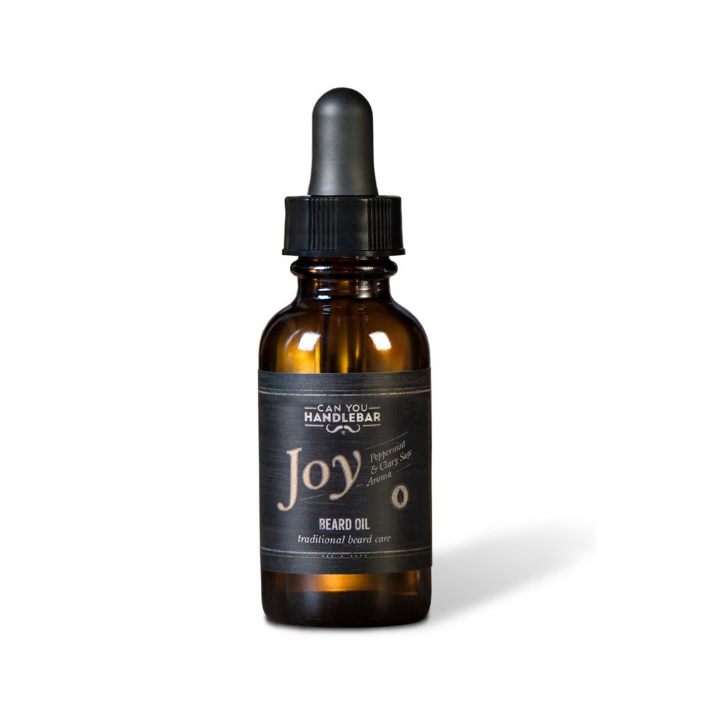 Can You Handlebar Joy Beard Oil
