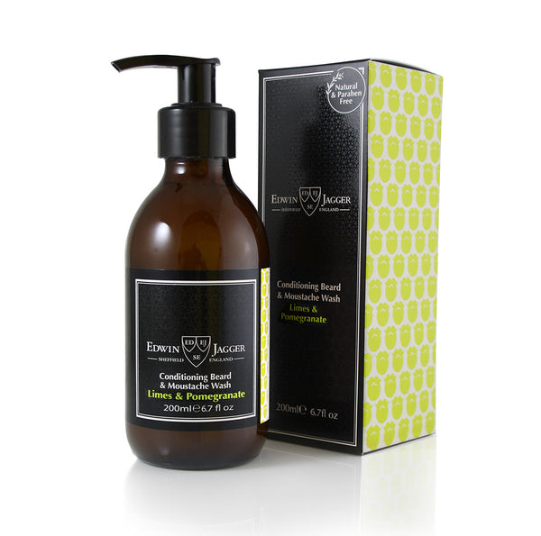 Edwin Jagger Beard Wash Lime and Pomegranate