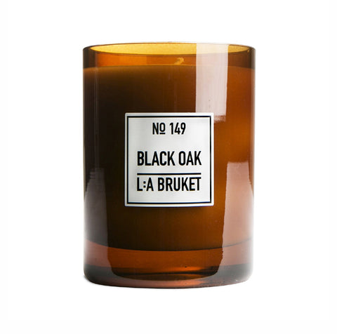 L:A Bruket Black Oak Scented Candle No149