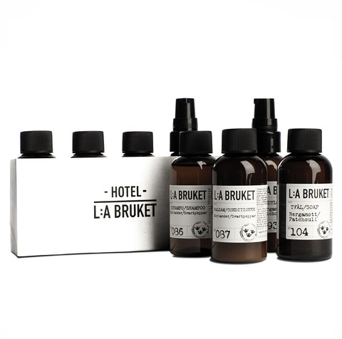 L:A Bruket Travel Kit