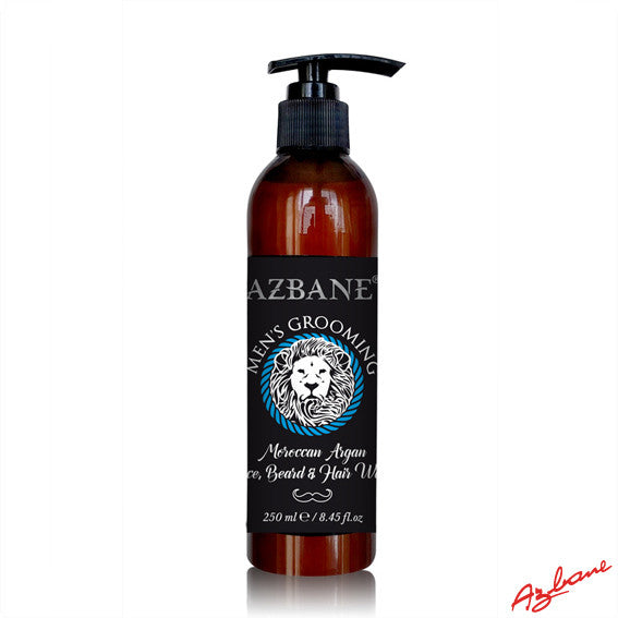 Azbane, Argan oil beard wash