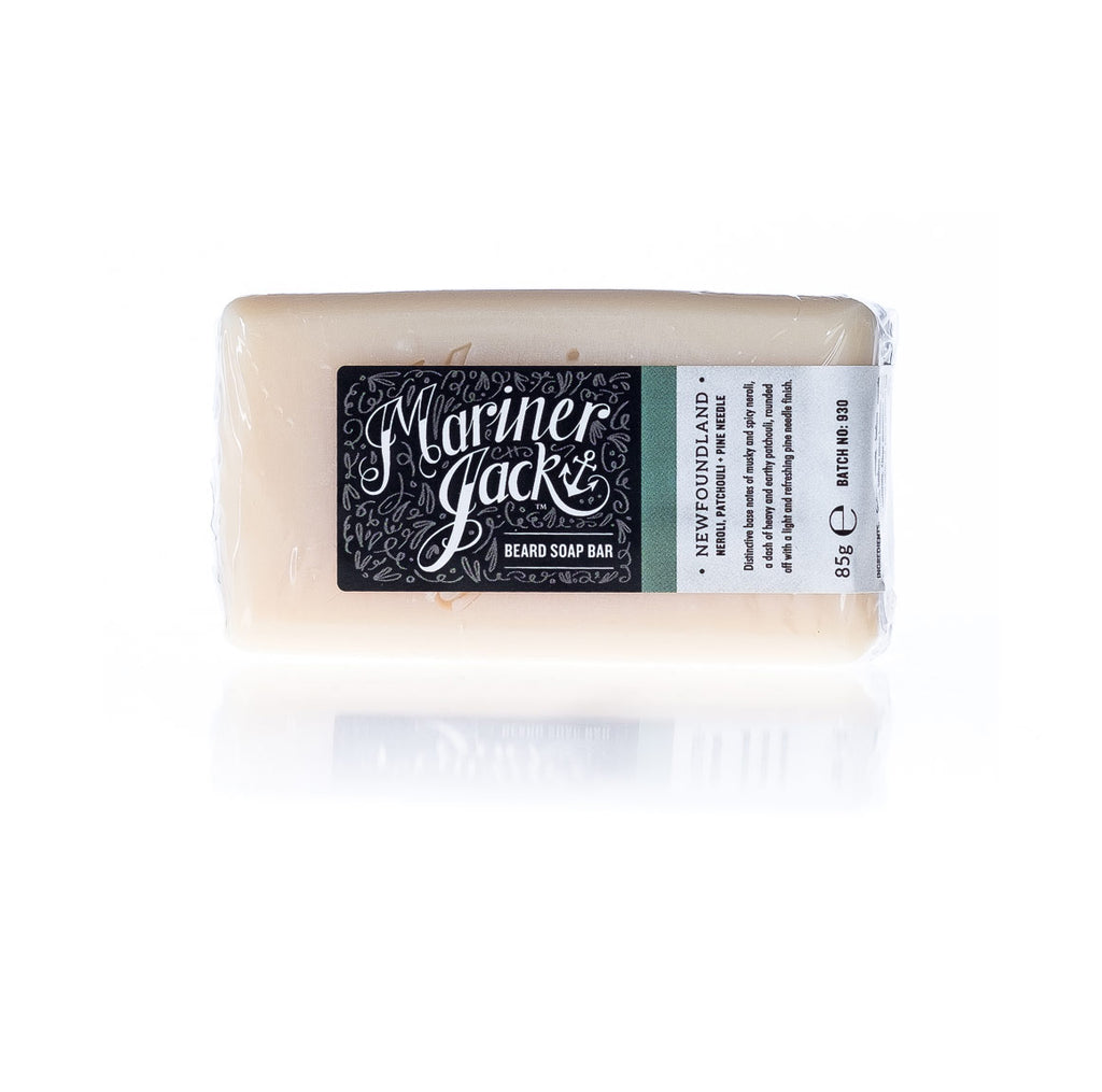 Mariner Jack Newfoundland Beard Soap Bar