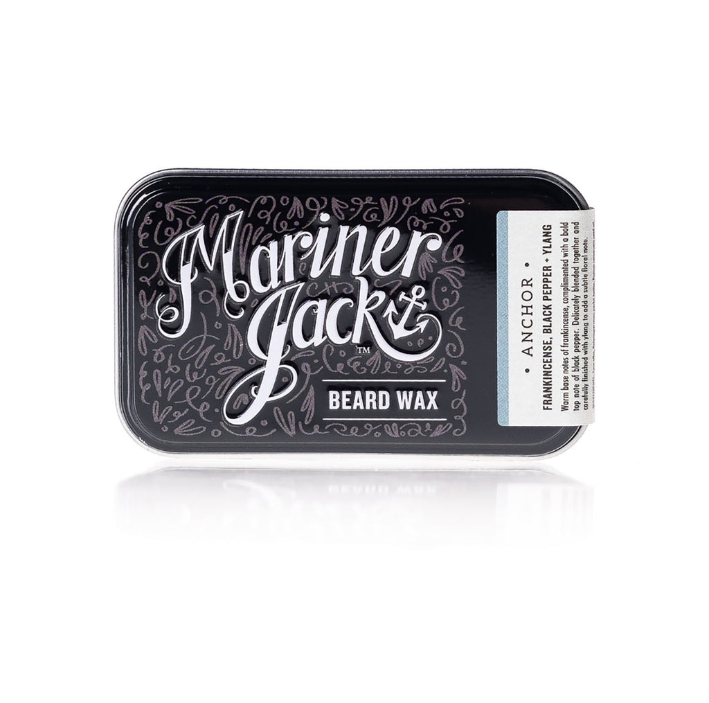 Mariner Jack Anchor Beard and Moustache Wax