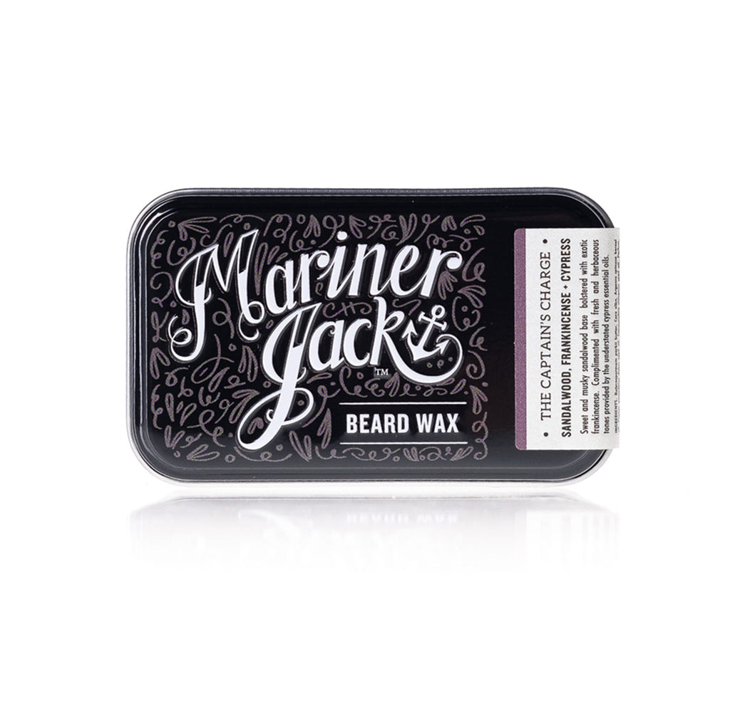 Mariner Jack Beard and Moustache Wax The Captains Charge