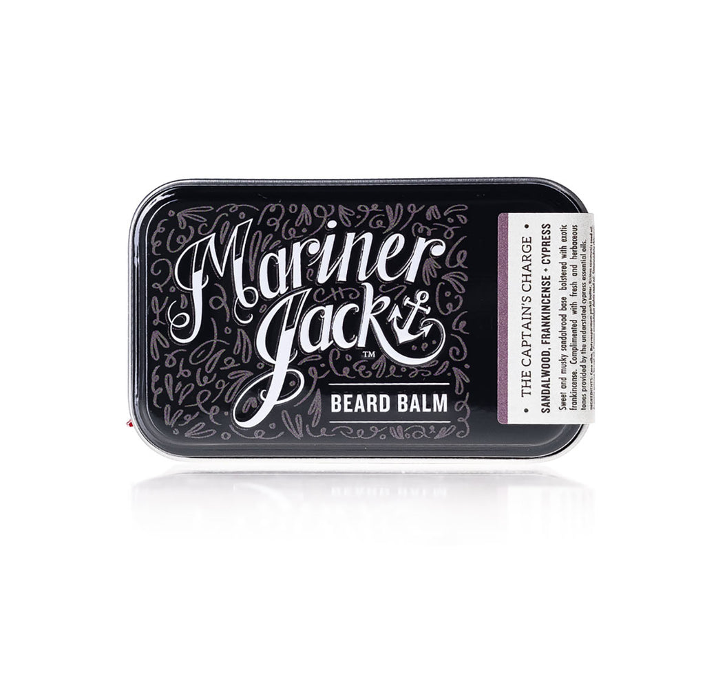 Mariner Jack, The Captain's Charge Beard Balm