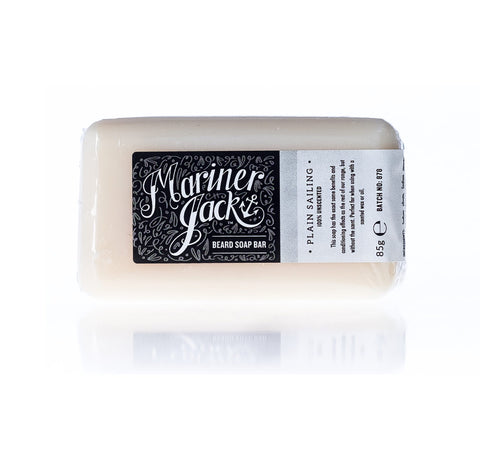 Mariner Jack Plain Sailing Beard Soap Bar