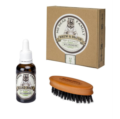 Mr Bear Family Special Kit Brew and Brush