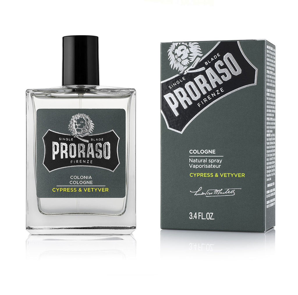 Proraso Cypress and Vetyver Eau de Cologne
