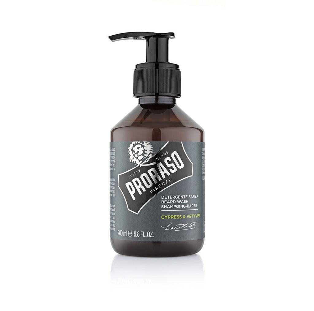 Proraso Beard Wash Cypress and Vetyver