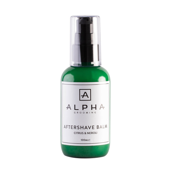 Alpha Grooming - Afterhave Balm, Citrus and Neroli (100ml)