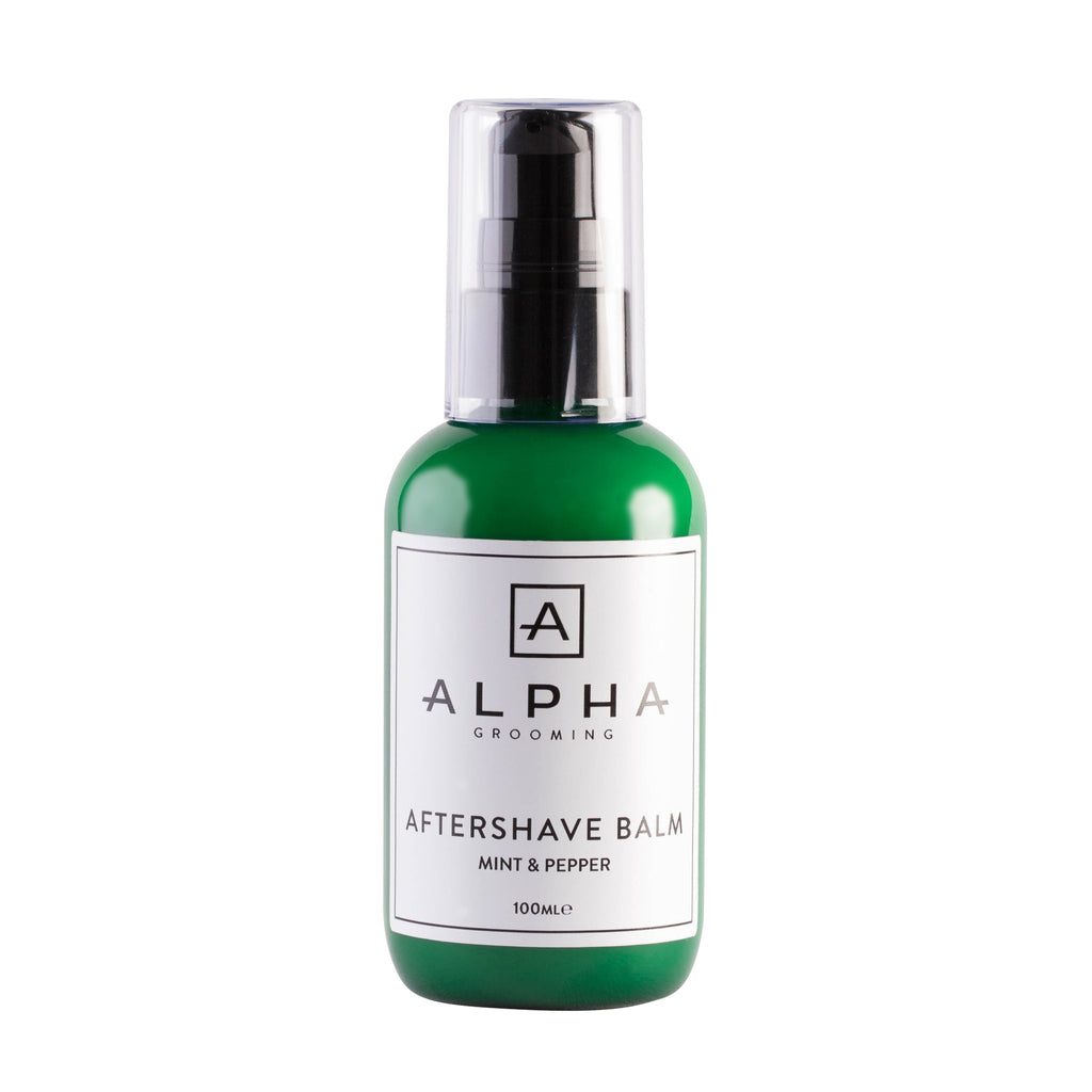Alpha Grooming Mint and Pepper Aftershave Balm