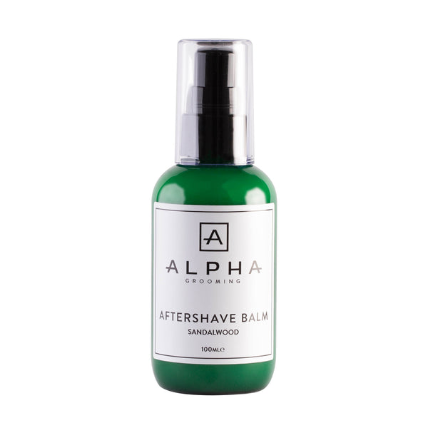 Alpha Grooming Sandalwood Aftershave Balm