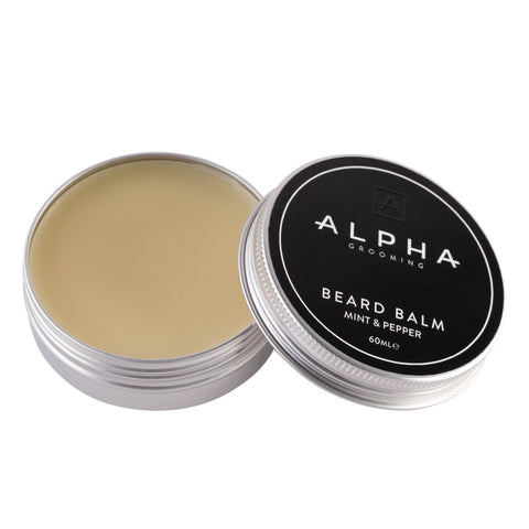 Alpha Grooming Mint and Pepper Beard Balm