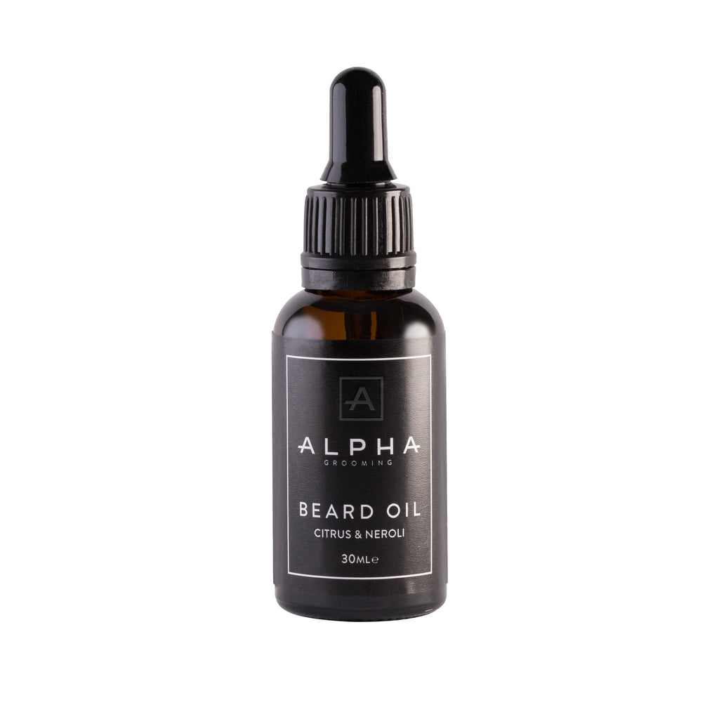 Alpha Grooming Citrus and Neroli Beard Oil