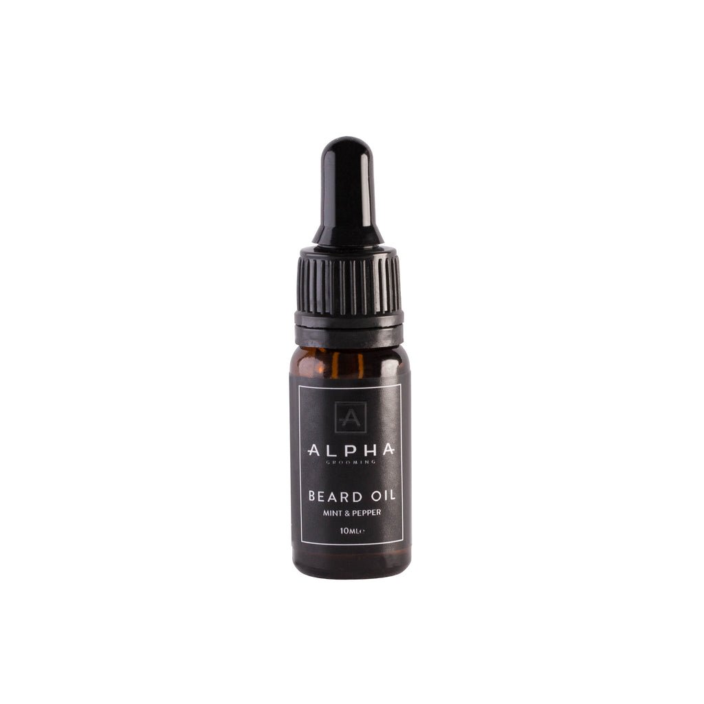 Alpha Grooming Mint and Pepper Beard Oil