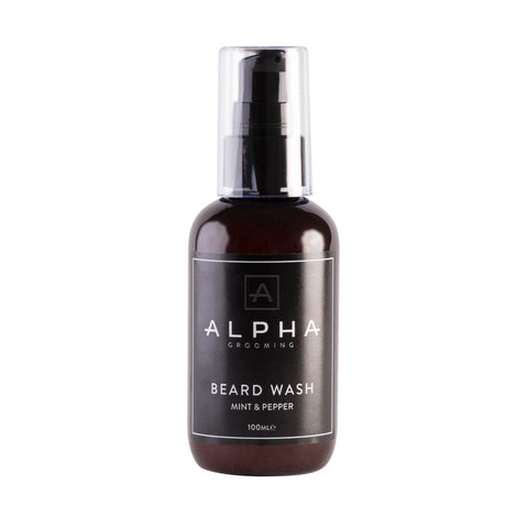 Beard Wash Mint and Pepper Alpha Grooming