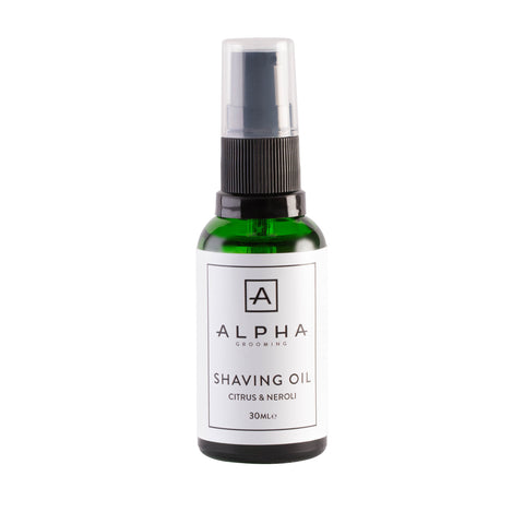 Alpha Grooming Shaving Oil Citrus and Neroli