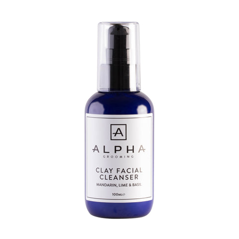 Alpha Grooming Clay Facial Cleanser