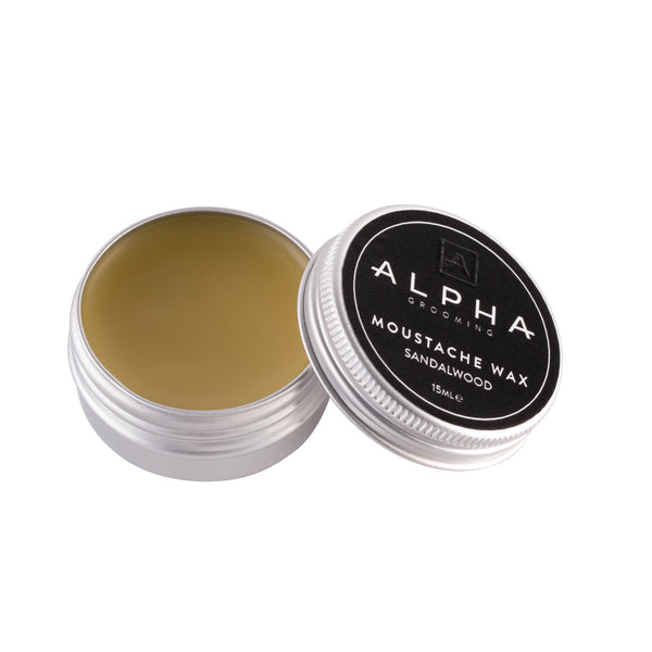 Alpha Grooming Sandalwood Moustache Wax
