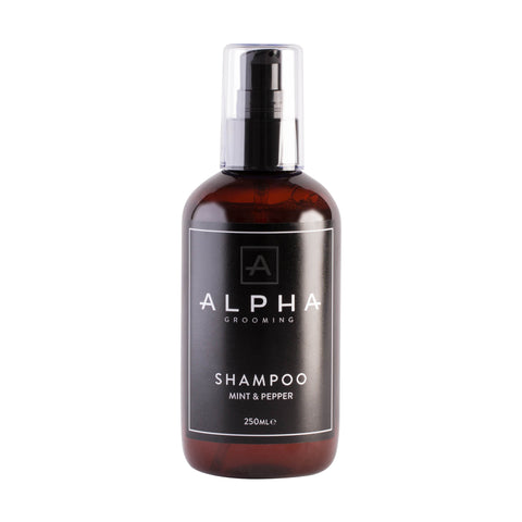 Alpha Grooming Shampoo, Mint and Pepper