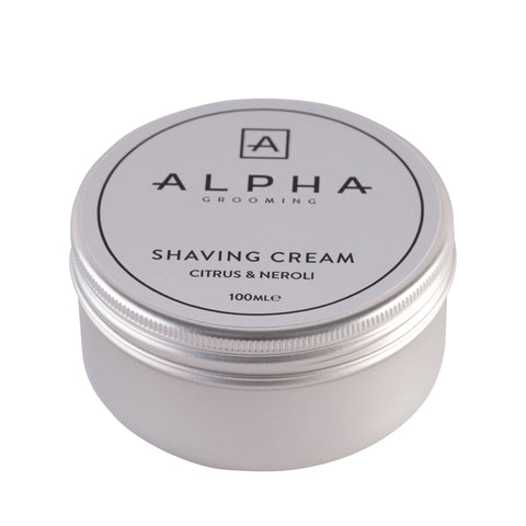 Alpha Grooming Citrus and Neroli Shaving Cream