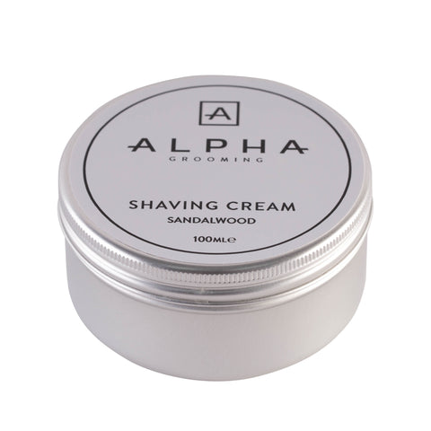 Alpha Grooming Sandalwood Shaving Cream